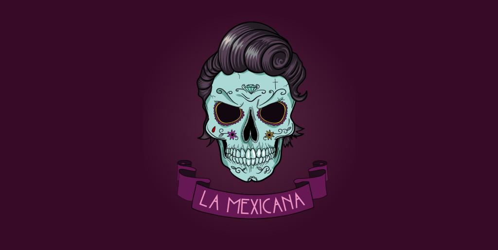 La Mexicana beeldmerk / illustratie / logo door Sammy de Keijne